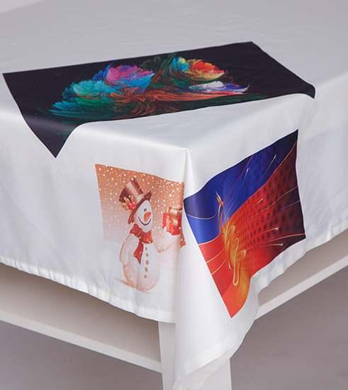 Tischdecke mit Ihren Bildern bedruckt